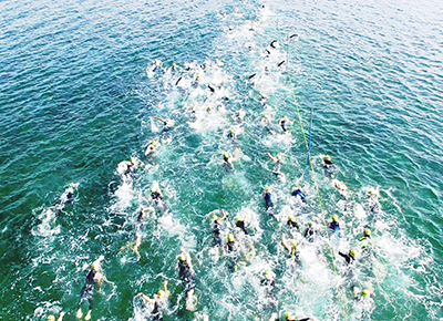 写真:OPEN WATER SWIMMING